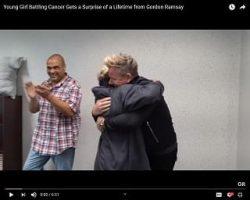 Gordon Ramsay Surprises NJ Girl Battling Leukemia With A Visit