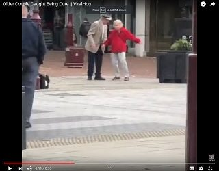 Viral Video: Older Couple Caught Being TOTALLY Adorbs