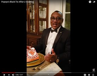 Viral Video of the Day: Popeye's Black-Tie Affair