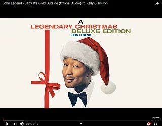 """John Legend & Kelly Clarkson Release Their New """"Baby It's Cold Outside"""" – Planet 106.7"""