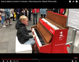 Viral Video: Kid Plays Huge Pop Songs On A Piano