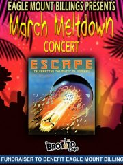 Eagle Mount March Meltdown – Featuring Escape (Celebrating the Music of Journey)