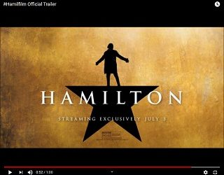 "Disney+ Drops ""Hamilton"" Trailer"