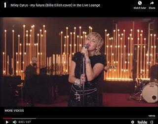 Miley Cyrus Covers Billie Eilish & The Eagles