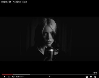 Billie Eilish Drops Video For Bond Theme