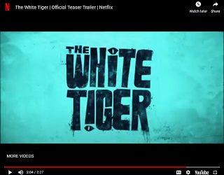 "Priyanka Chopra In Netflix's ""White Tiger"" Trailer"