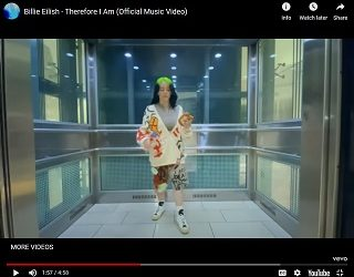 """Billie Eilish Drops New Song """"Therefore I Am"""""""