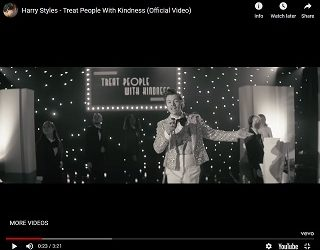 """Harry Styles Drops Video For """"Treat People With Kindness"""""""
