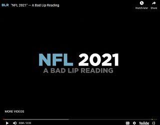 NFL 2021: A Bad Lip Reading