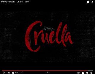 "Disney Drops Live-Action ""Cruella"" Trailer"