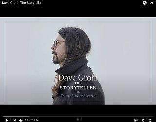 Dave Grohl Releasing First Book