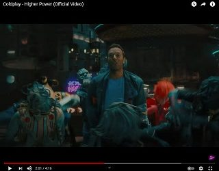 """Coldplay Share Sci-Fi-Inspired """"Higher Power"""" Video"""