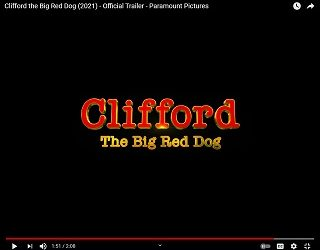"""Twitterverse Freaks Over """"Clifford The Big Red Dog"""" Live-Action Movie Trailer"""