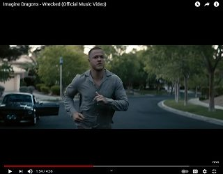 """Imagine Dragons Share Video For """"Wrecked"""""""