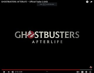 """New Trailer Drops For """"Ghostbusters: Afterlife"""""""