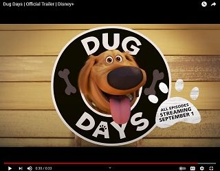 """Dug The Dog From """"Up"""" Is Getting His Own Series"""